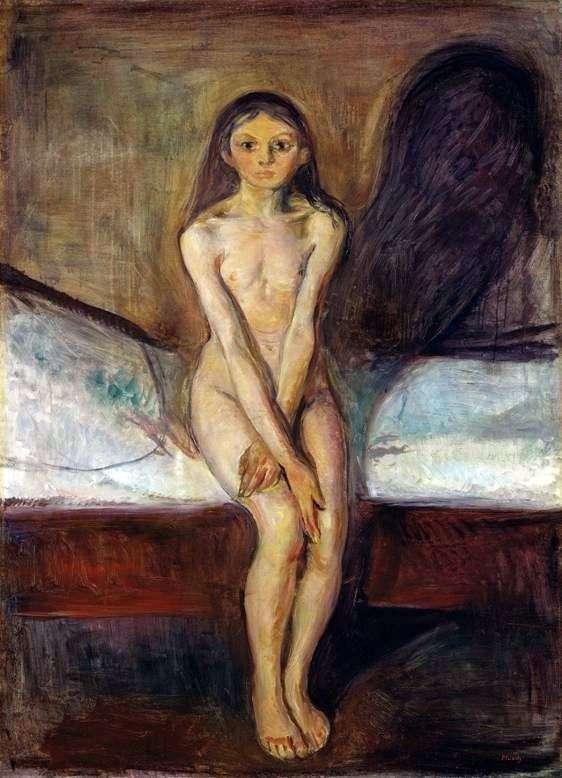 Dojrzewanie   Edvard Munch