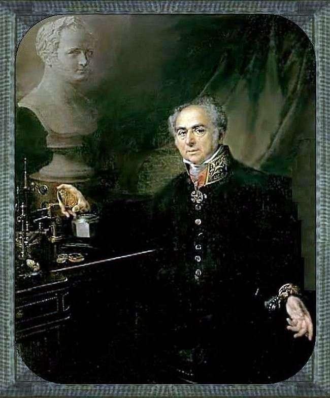 Portret KA Leberekhta   Wasilij Tropinin