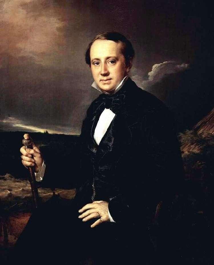 Portret A. A. Sapozhnikov   Wasilij Tropinin
