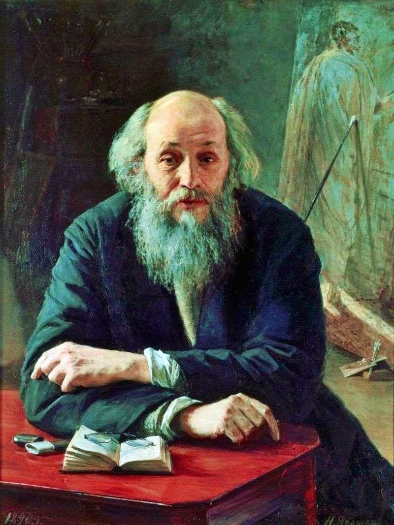 Portret artysty Ge   Nikolay Yaroshenko