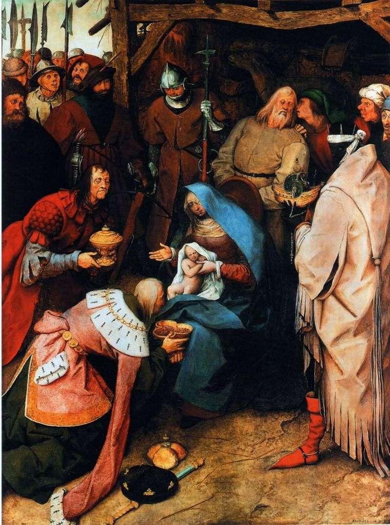 Adoracja Trzech Króli   Peter Bruegel