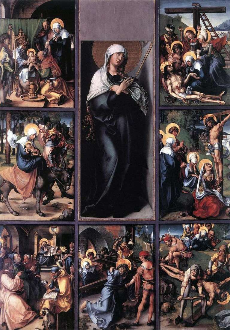 Siedem namiętności Maryi   Albrecht Durer
