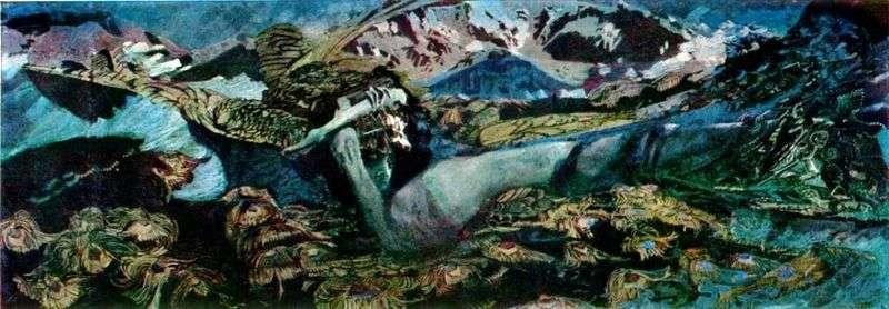 Demon Fallen   Michaił Vrubel