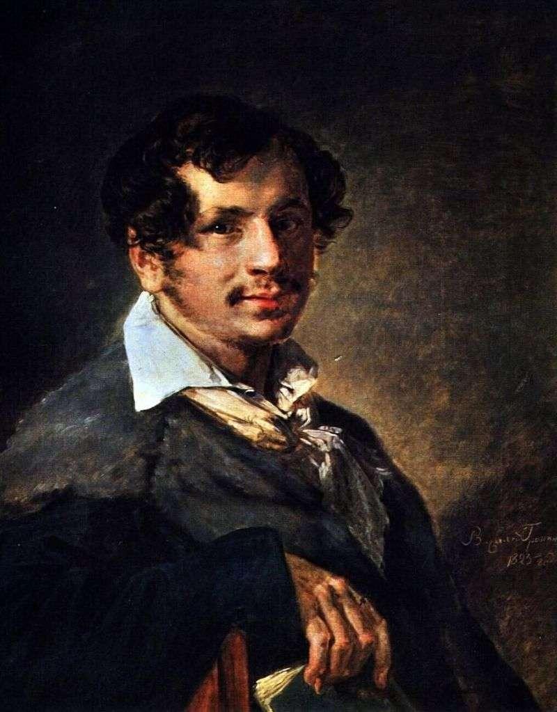 Portret Bułakowa   Wasilij Tropiński