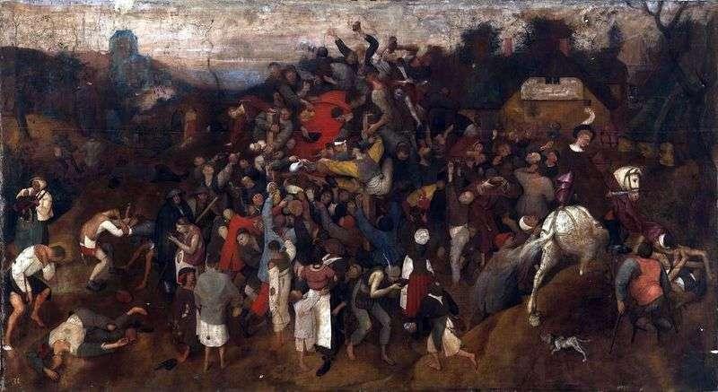 Święto Św. Marcina   Peter Bruegel