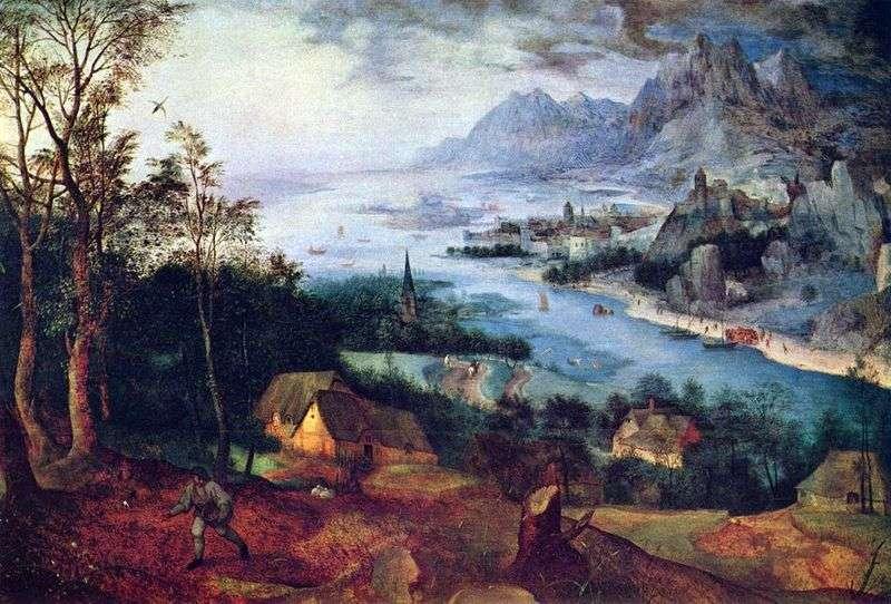 Przypowieść o siewcy   Peter Bruegel