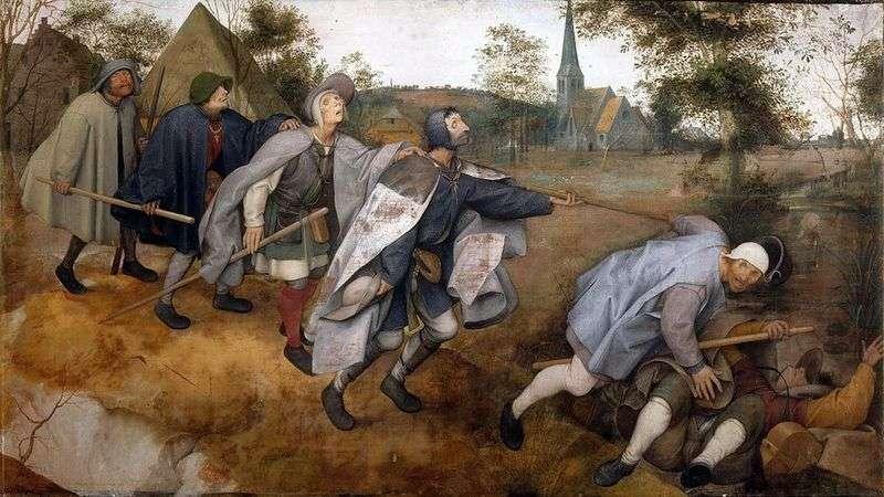 Przypowieść o ciemnocie   Peter Bruegel