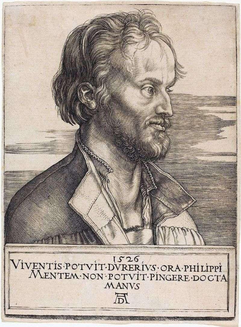 Philip Melanchthon   Albrecht Durer