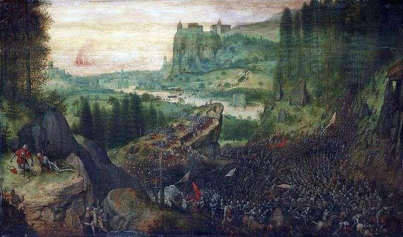 Sauls Suicide   Peter Bruegel