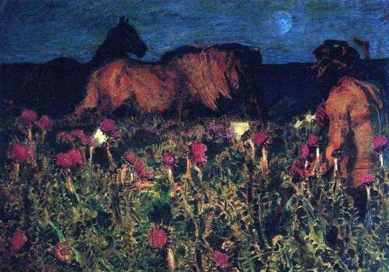 W nocy   Michaił Vrubel