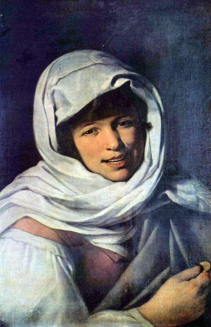 Dziewczyna z monetą (Dziewczyna z Galicji)   Bartolome Esteban Murillo