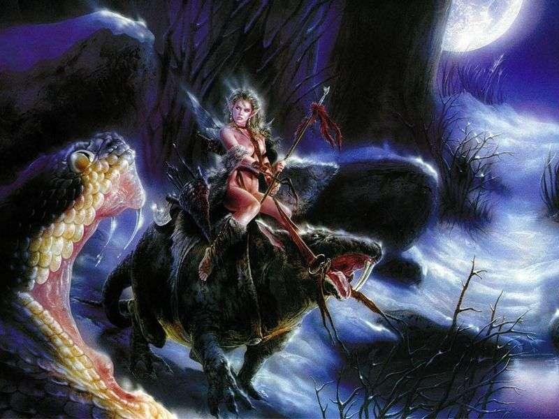 Królowa elfów   Luis Royo