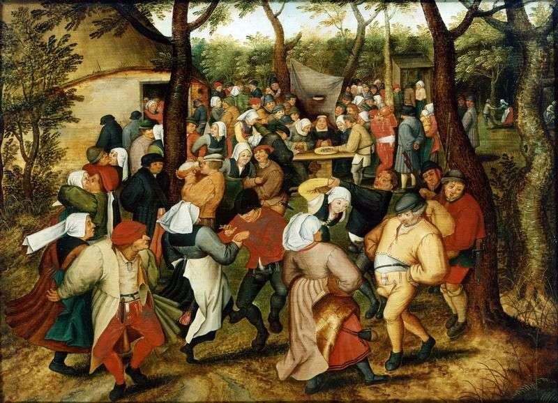 Taniec weselny   Peter Bruegel
