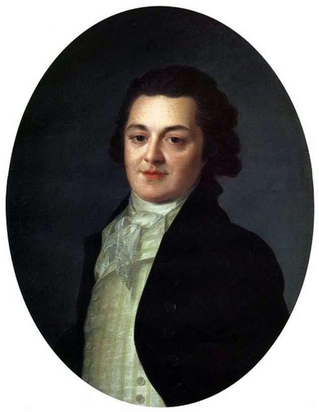 Portret A. Buturlinoya   Fedor Rokotov