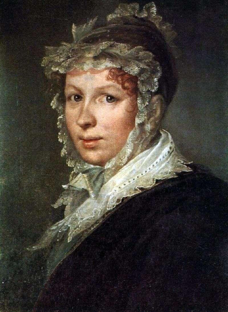 Portret żony artysty   Wasilij Tropinin