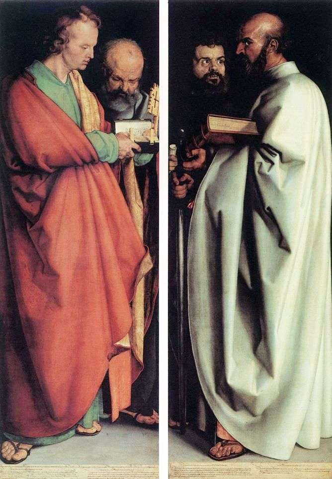Czterej Apostołowie   Albrecht Durer