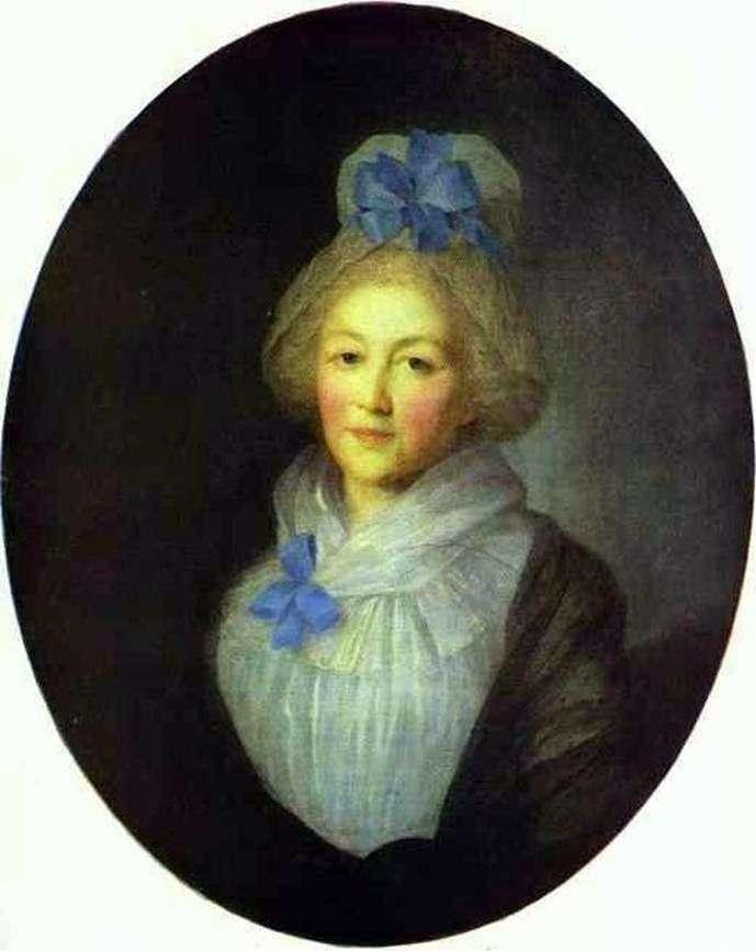 Portret A. A. Dolgorukoya   Fedor Rokotov