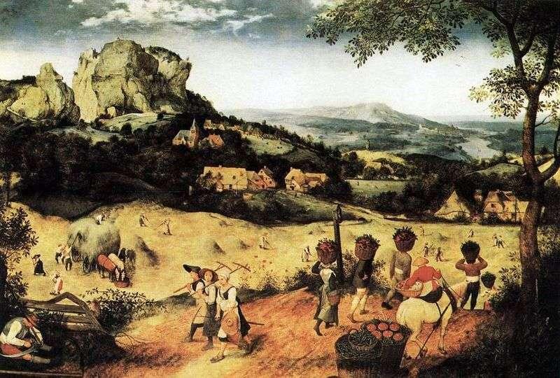 Sianokosy   Peter Bruegel