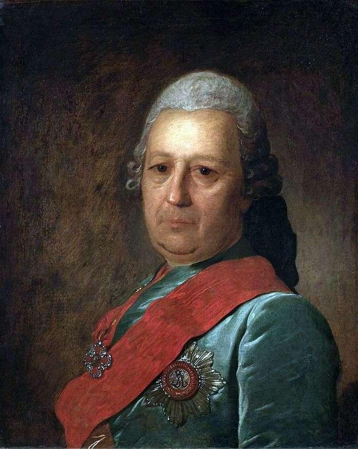 Portret A. M. Obreskova   Fedor Rokotov