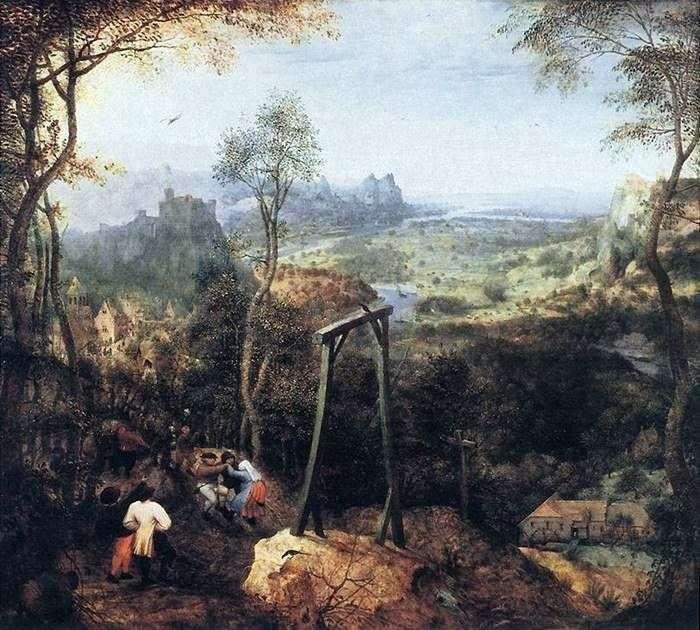 Czterdzieści na szubienicy   Pieter Bruegel
