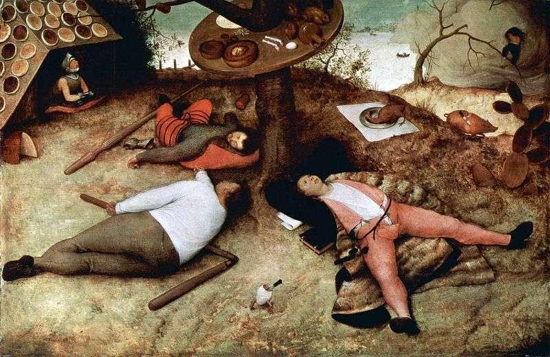 Kraj leniwy   Peter Bruegel