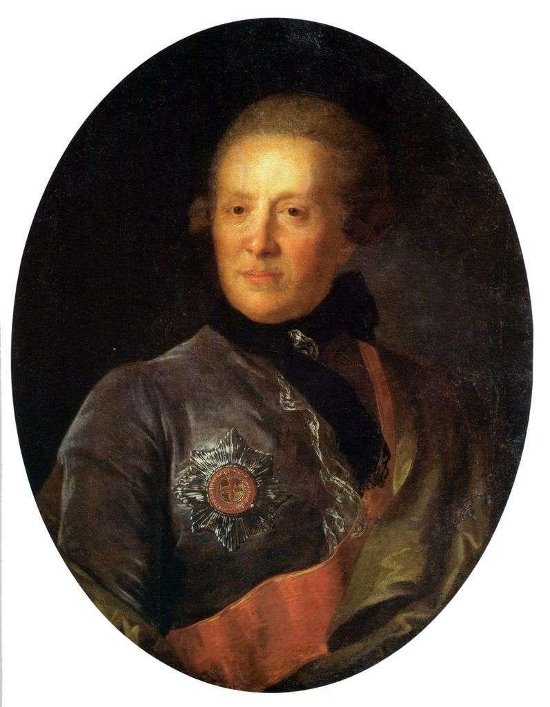 Portret A. P. Sumarokova   Fiodor Rokotow