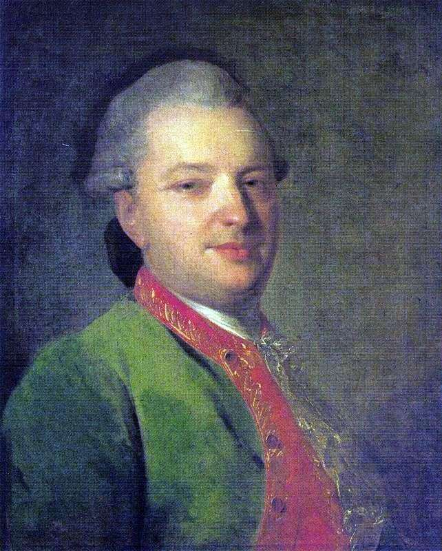 Portret V. I Maikov   Fedor Rokotov