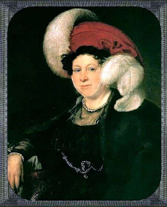 Portret N. A. Zubova   Wasilij Tropinin