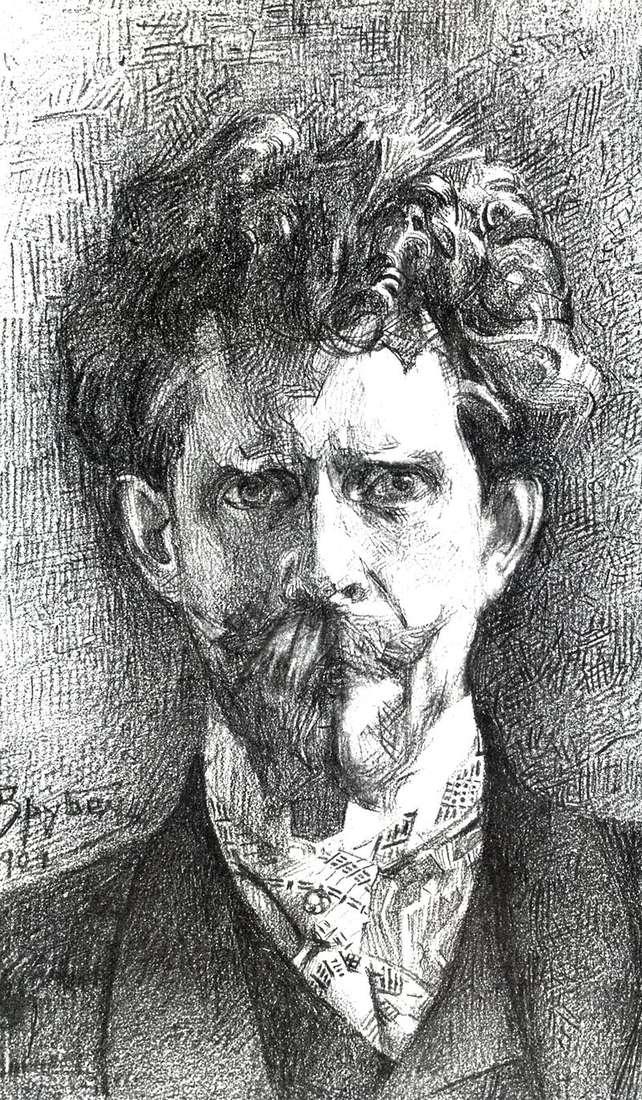 Portret dr F. A. Usoltsev   Michaił Vrubel
