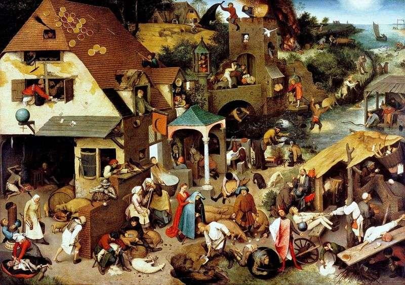 Przysłówki flamandzkie   Peter Bruegel