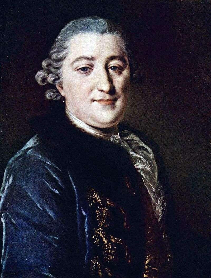 Portret hrabiego Iwana G. Orłowa   Fiodora Rokotowa