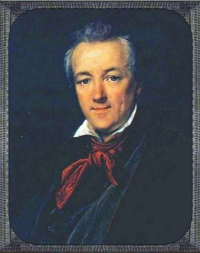 Portret P. F. Sokolov   Wasilij Tropinin