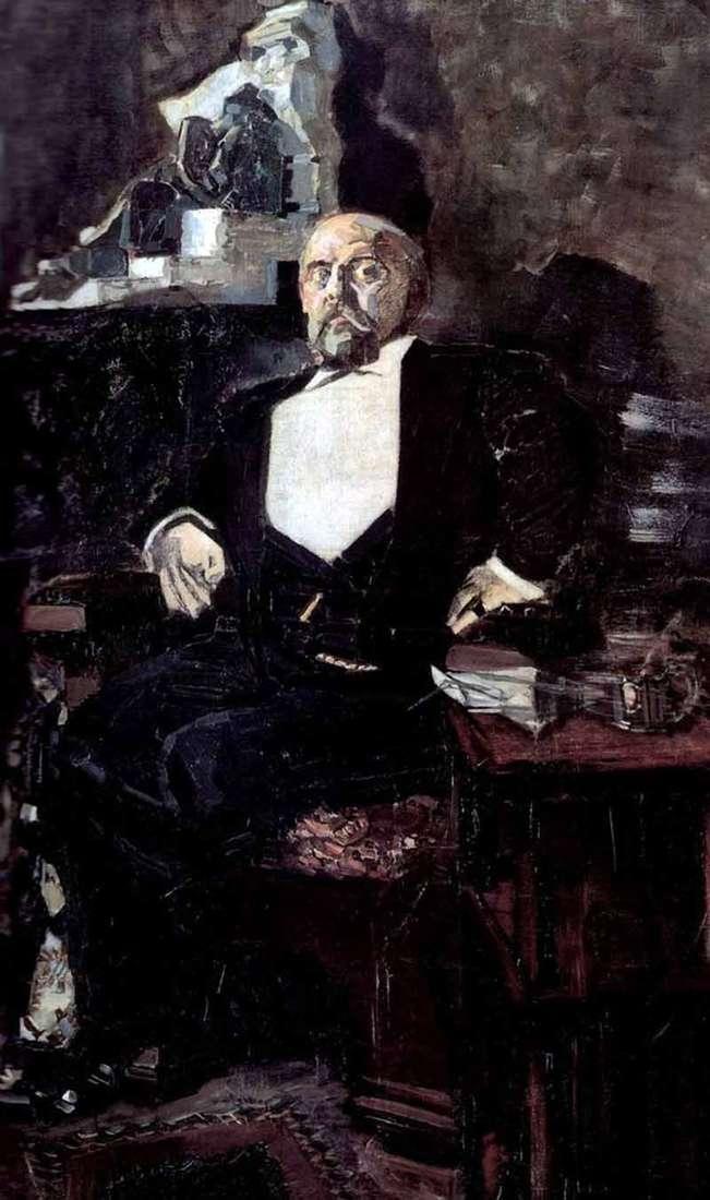 Portret Savvy Mamontov   Michaił Vrubel