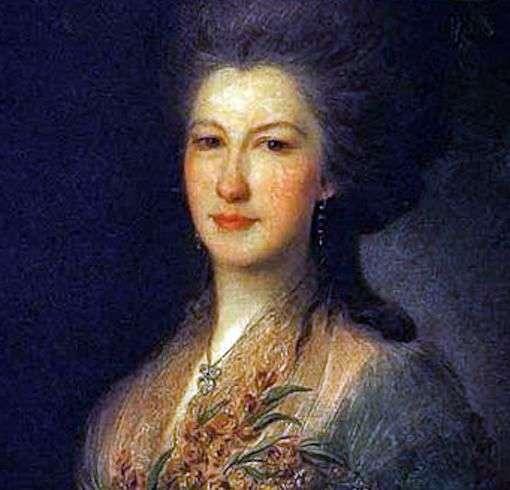 Portret hrabiny E. V. Santi   Fedor Rokotov