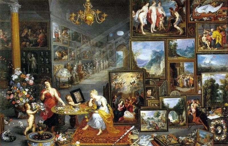 Alegoria widzenia   Jan Bruegel