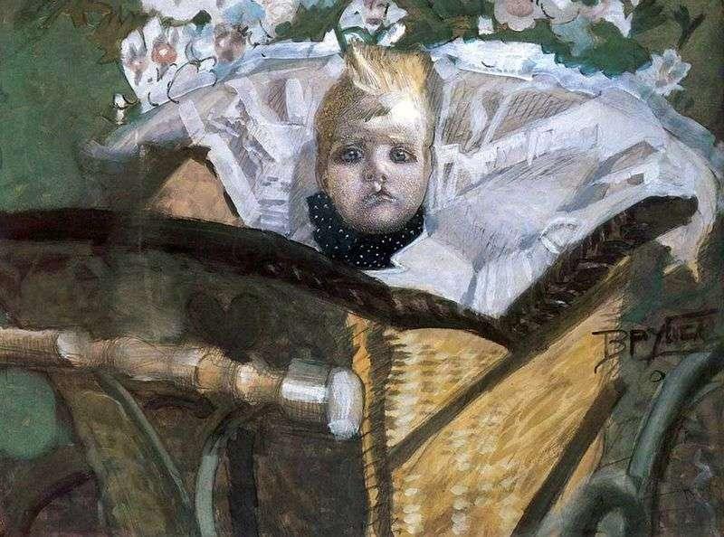 Portret syna artysty   Michaił Vrubel