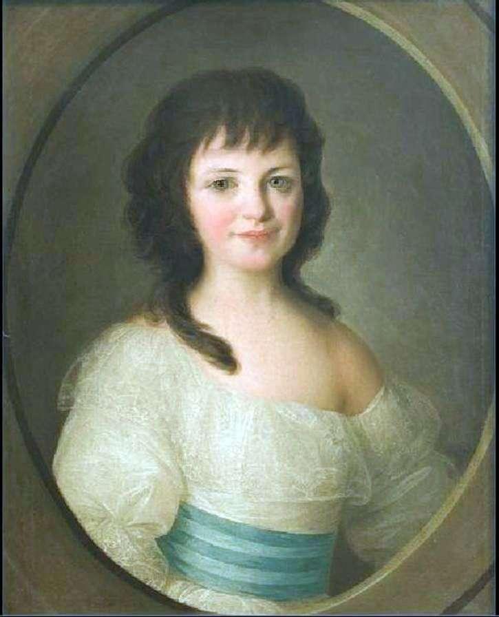 Portret hrabiny P. A. Woroncowa jako dziecko   Fiodor Rokotow
