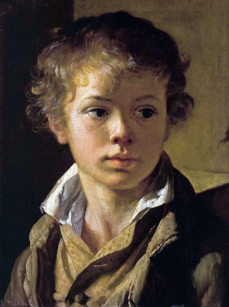 Portret syna artysty   Wasilij Tropinin