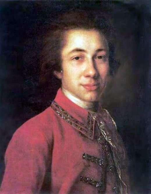 Portret I. B. Kurakina   Fedor Rokotov