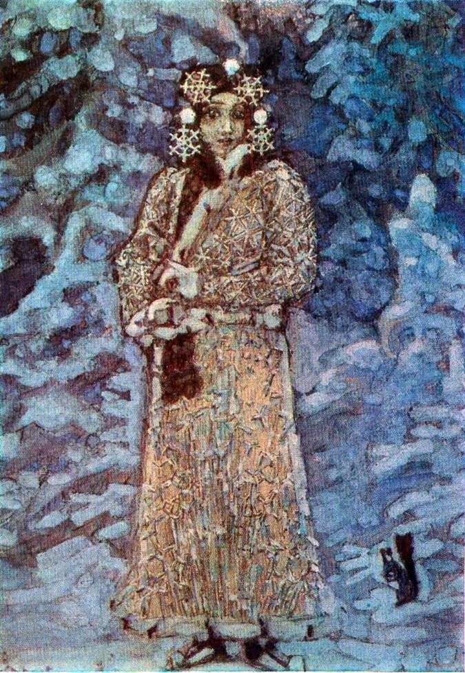 Snow Maiden   Mikhail Vrubel