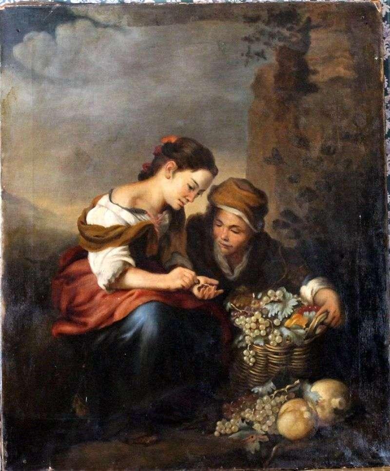 Sprzedawca owoców   Bartolome Esteban Murillo