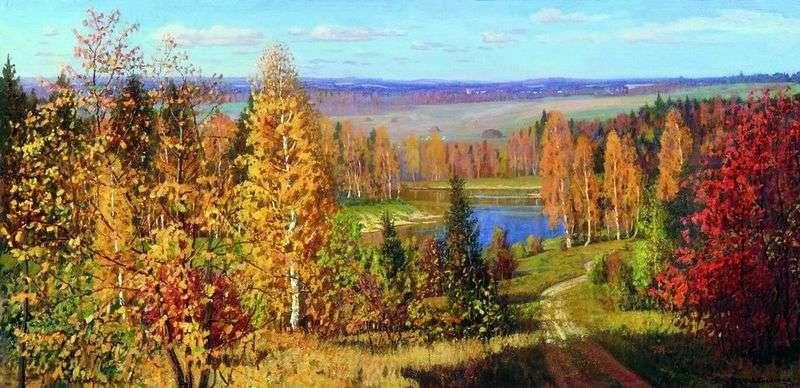 Jesienne pola   Lydia Isaakovna Brodskaya