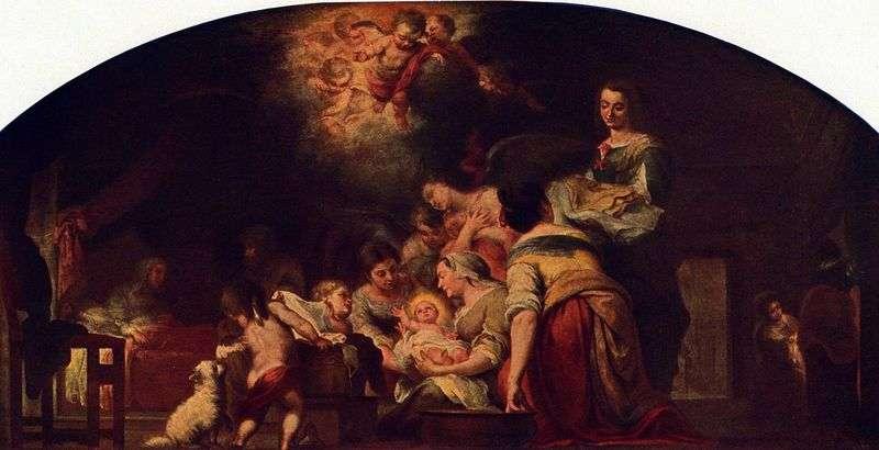 Narodzenia Najświętszej Marii Panny   Bartolome Esteban Murillo