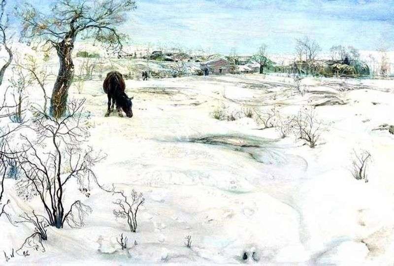 Zima   Izaak Brodski