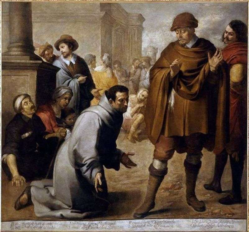 Św. Salvadora Orta i Inkwizytora Aragonii   Bartolomeo Estebana Murillo