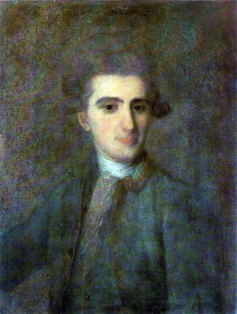 Portret Mikołaja Struyskiego   Fedor Rokotov