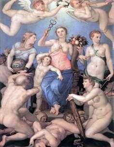 Alegoria szczęścia   Agnolo Bronzino