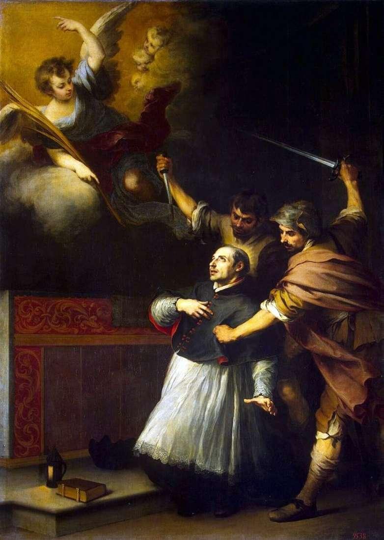 Śmierć Inkwizytora Pedro de Arbuez   Bartolomeo Esteban Murillo