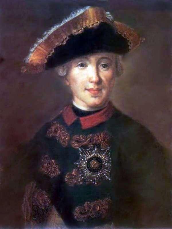 Portret Petera Fedorowicza, w przyszłości Piotra IIIg   Fiodora Rokotowa