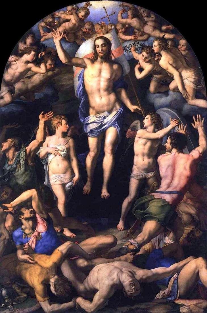 Zmartwychwstanie Chrystusa   Agnolo Bronzino